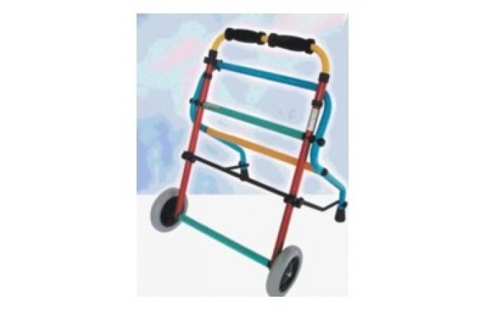 Andador con ruedas infantil
