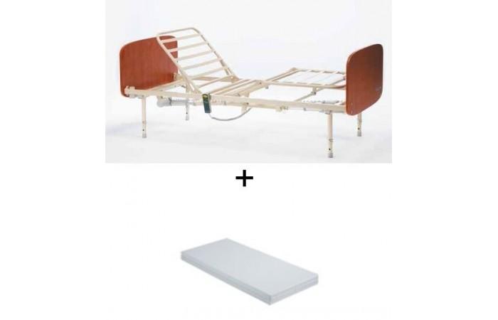 Cama sonata + colchón clinic