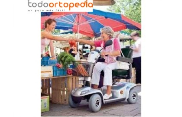 Scooter 4 ruedas Leo